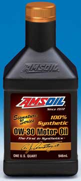 0W-30 AMSOIL SSO Signature Series Synthetic Motor Oil